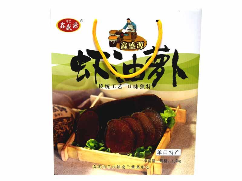 陈香老咸菜价格-规模较大的虾油萝卜礼盒生产公司