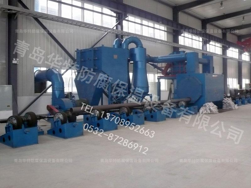 钢管一步法设备,聚氨酯一步法设备,一步法设备生产线【华特】
