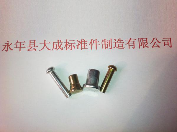 批发扣件专用铆钉【dc加工】生产铁铆钉材质挑选