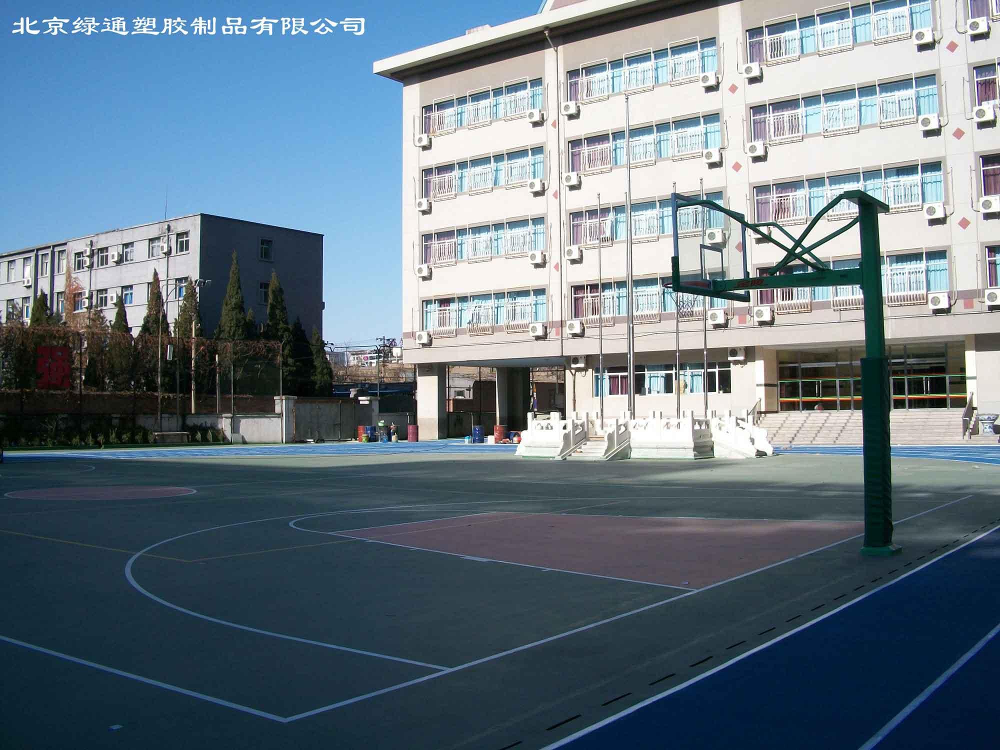 橡胶运动地板 什么地方有卖优质预制型橡胶篮球场地板
