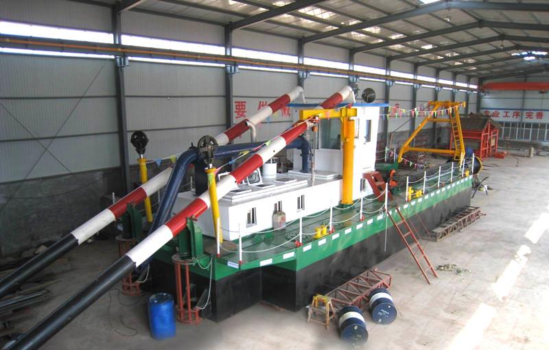 河道淘金船_耐用的淘金船凯翔机械供应