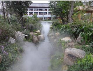 忻州雾森系统 人造雾系统 景观造雾设备园林人造雾设备