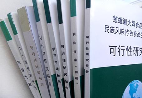 云南可行性研究报告模板/格式/案例:www.dzhlsf.com