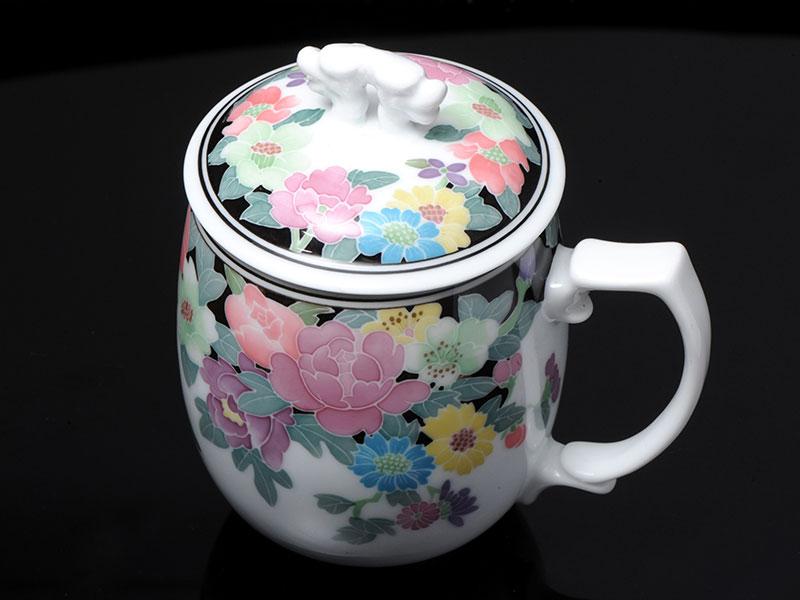 高端送禮茶具,湖南具有價值的釉下五彩繽紛單杯供應