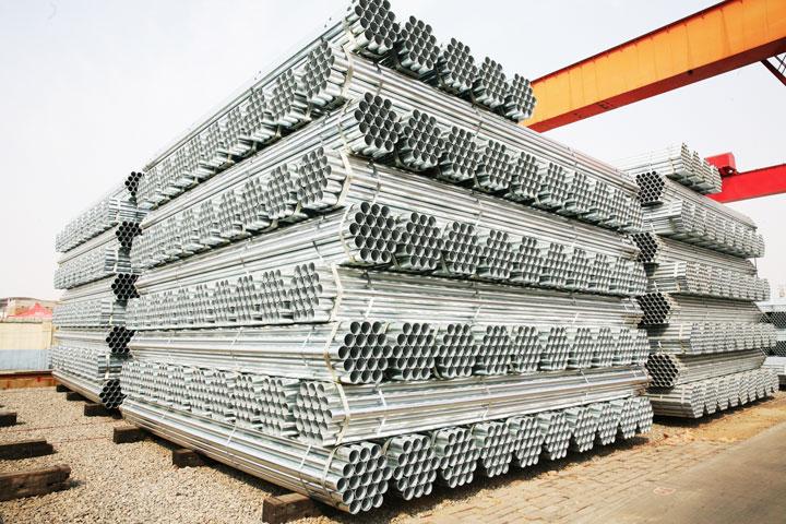 钢材镀锌管衬塑管厂家批发