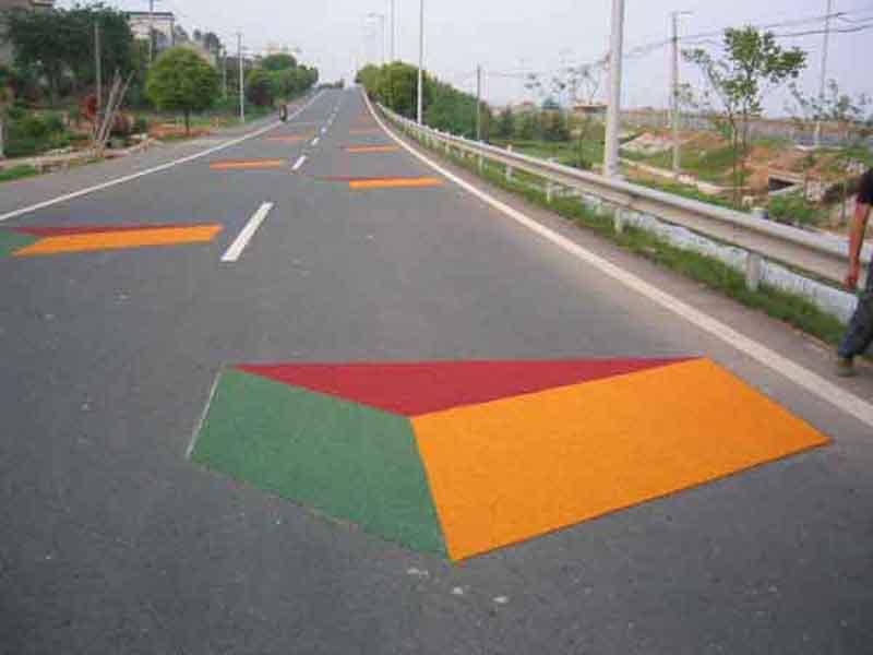 甘肃道路划线