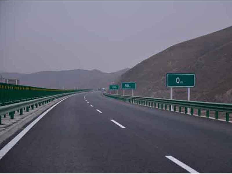 甘肃道路标线
