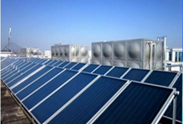 买精品太阳能热水器来金恩机电,黄石平板太阳能热水