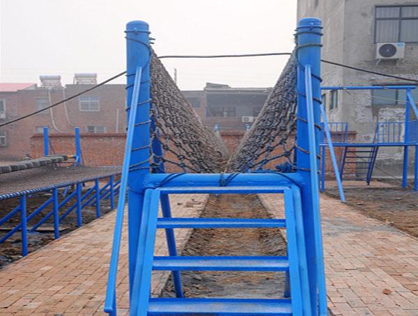 体能乐园V型桥当选飞奔游乐设备|出口儿童游乐设备