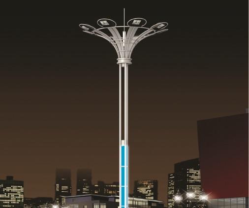 广西广场高杆灯定制