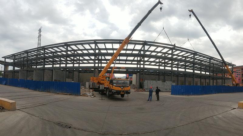甘南钢结构制作安装-兰州甘肃钢结构厂房加工
