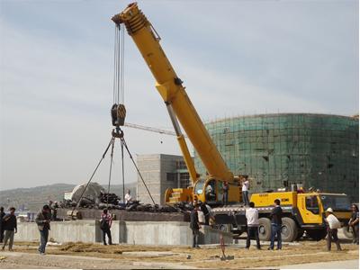 甘肃锅炉安装厂家 兰州厂房设备搬迁企业就选利森吊装